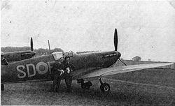 A Flt Spitfire