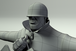 Team Fortress 2 - Soldier wires