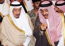 Prince Abdulaziz with CrownPrince