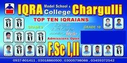 IQRA Model School Chargulli Poster