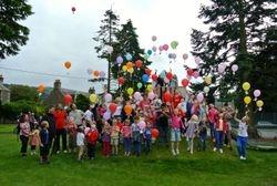 Balloon release - gone...