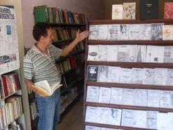 O livreiro e psicologo Edson Drumond da Silva