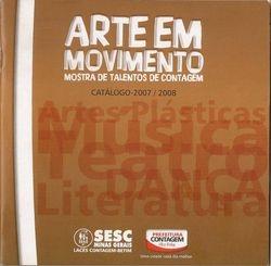 """Catalogo cultural """"Arte em movimento"""""""