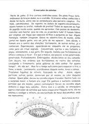 """Mercador de estrelas"", conto premiado de Marta Reis"
