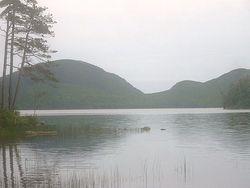 EAGLE LAKE IN ACADIA