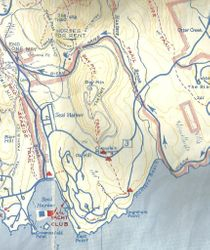 DAY MOUNTAIN TRAIL MAP - ACADIA