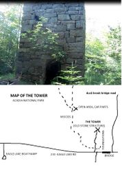 THE TOWER MAP, ACADIA