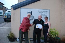 Lymestone Brewery - Best Real Ale - Gold Award