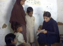 Babra Teaching Children
