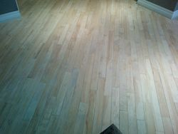 Hardwood flooring Refinishing