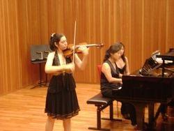 Summer Class, Mozarteum Academy, Kleine Saal,  Austria, 2009