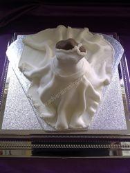 Wedding Dress Cake (front )