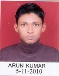 ARUN KUMAR RANK 459