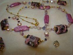 Purple Fantasy Necklace Set