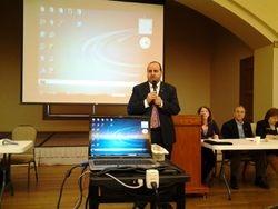 SP President Dr. John Grossomanides