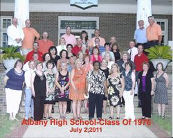AHS Class of 1976 -- July 2011
