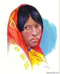 Kuna girl