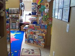Entering the Play room