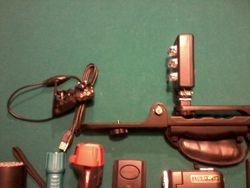 Webcam, Ghost Light IR/UV, Camera Mount