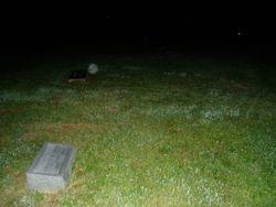Orb in Williamsburg Cemetery
