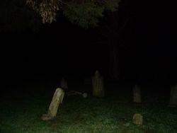 Orb in Greenbriar Cemetery