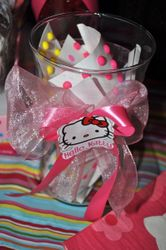 **CANDY BUFFET for a HELLO KITTY CELEBRATION**