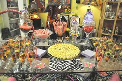 **CANDY  BUFFET  for a PURPLE ELEPHANT EVENT**
