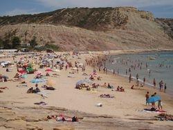 Luz Beach in Summer