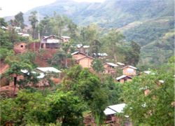 PNRC Typhoon-resistant transitional shelters with latrines for Brgy. Umingan residents