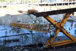Fallen Tower Crane