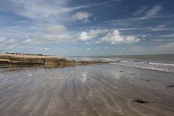 Kingsdown Beach in Kent
