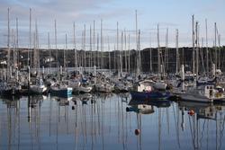 Boats at Kinsale