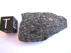 NWA5436, Carbonaceous Chondrite, Sahara Desert  5.82g; P1,500.00