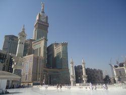 Bovenste verdieping Masjid al Haram