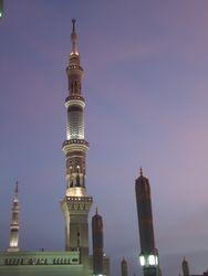 Minaret Masjid an Nabawi