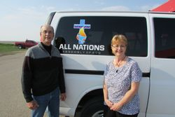 Pastor Gordon and Kim