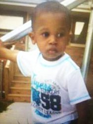 Kyrian Knox, a 2-year-old Rockford, Illinois