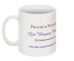 Prayer is Warfare - Mug View 1 of 2