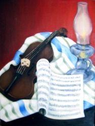 Violin Stil Life