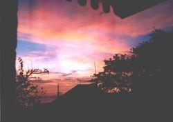 Sunset on Church