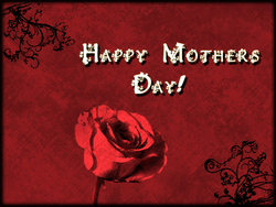 Mother's Day Card/Background