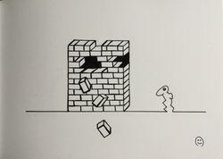 Rabbit man break down Walls