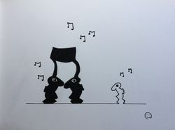 Rabbitman totday we dance
