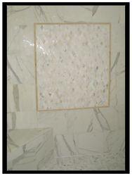 Calacatta Polished Shower