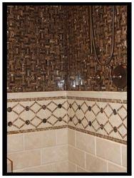 PB Custom Mosaic Shower