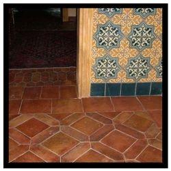 Ant Terracotta Picket/Squares