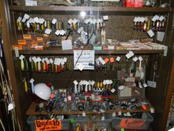Fishing lures and reels