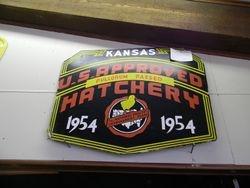 Kansas hatchery sign