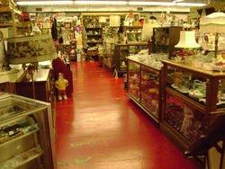 aisles of merchandise