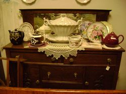 teapots and tureens